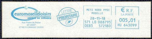 empreinte postale